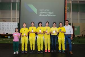 20180706 Sport Team Dinner