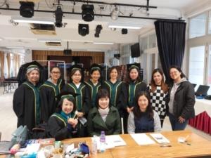 20200311 Graduation Gown Distribution